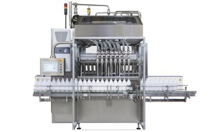 Filling Machine OPTIMA SMF for liquids, pastes, chunky or abrasive products