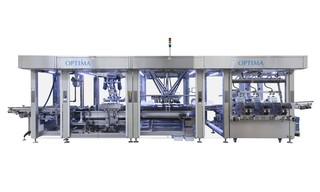 Cartoning Machine OPTIMA CBF to Gluing and assembly of box blanks