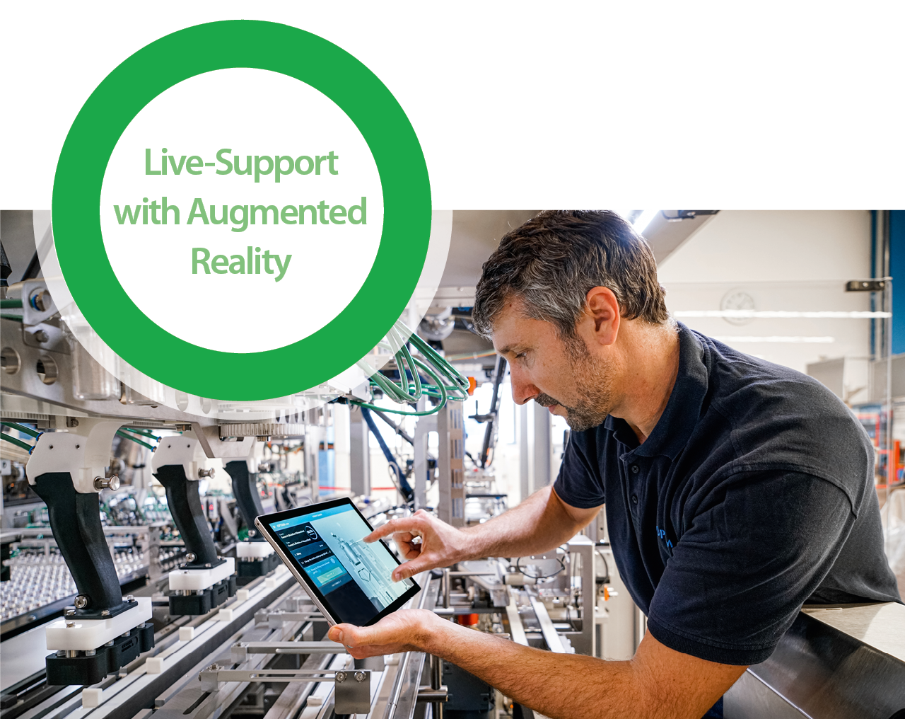 Live-Support with Augemented Reality (AR)