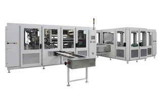 Packaging Machine OPTIMA HS/OSI - Bagger for Light Incontinence Products