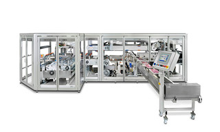Packaging machine OPTIMA OSR - Bag packer of toilet paper rolls