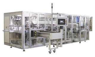 Packaging Machine OPTIMA PAKSIS D7 - Bagger for Baby Diapers