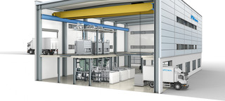 Freeze drying system - Modern building infrastructure - OPTIMA pharma