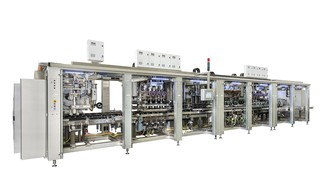 Filling and Closing Machine OPTIMA SoftCan Maker for Powdery, granulated or chunky food products