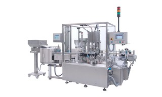 Filling- and Closing Maschine OPTIMA FLEXOFILL