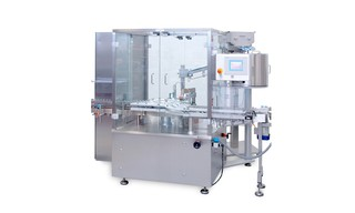 Fully-automatic Filling and Closing Maschine OPTIMA FLEXOCAP