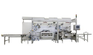 4 Side Seal Platen Packaging Machine OPTIMA CPS