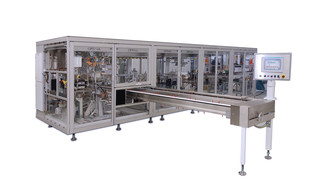 Packaging machine OPTIMA OS5R - Bagger for folded paper towels