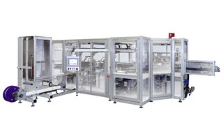 Packaging Machine OPTIMA PAKSIS D5 - Bagger for Baby Diapers