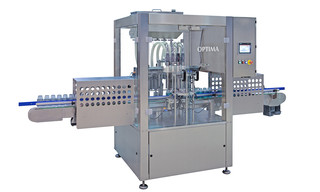 Filling Machine OPTIMA FM1 for liquid products (Cosmetics, Food, Chemicals)