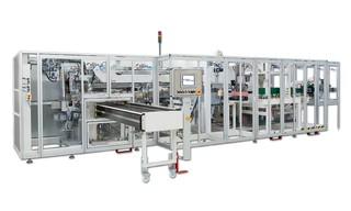 Bag Packaging Machine Paksis D10 - Packaging System for Baby Diapers and Training Pants