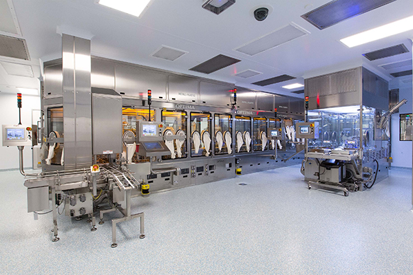 Optima Pharma - Flexible Filling Line